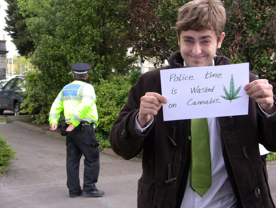 Clark French, cannabis activist.